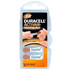 Duracell 312 BL6 (6/60/600)