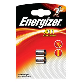 Energizer A11/E11A 6V BL2