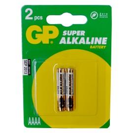GP LR8 (25A, AAAA) 1.5V BL2 (2/20)