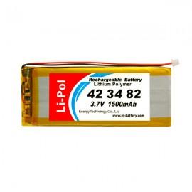 LP423482-PCM 1500mAh 3.7V
