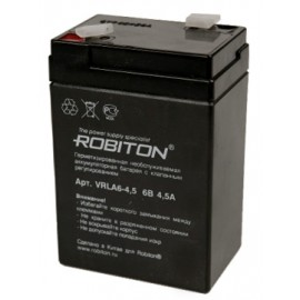 Robiton VRLA6-4.5 Security 6V 4.5Ah