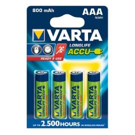 Varta AAA 800mAh BL4 (56703) (4/40)