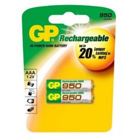 GP AAA 950mAh BL2 (2/20)