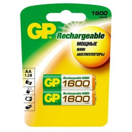 GP AA 1600mAh BL2 (2/20)