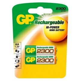 GP AA 2300mAh BL2 (2/20)
