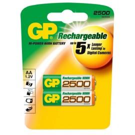 GP AA 2500mAh BL2 (2/20)