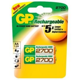 GP AA 2700mAh BL2 (2/20)