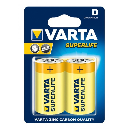 Varta R20 BL2 Superlife (2020) ()2/24/120