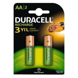 Duracell AA 1300mAh BL2 (2/20)