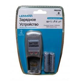 Зар. устройство Lenmar PRO22R + 2R6х2000mAh