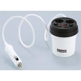 Remax USB3.1A AUTO 2usb+12V CR-2XP 3100mA white