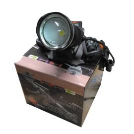 Фонарь налобный аккумуляторный P-T07C 1светодиод zoom