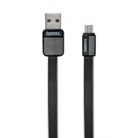 USB кабель MicroUSB Remax Platinum RC-044m black