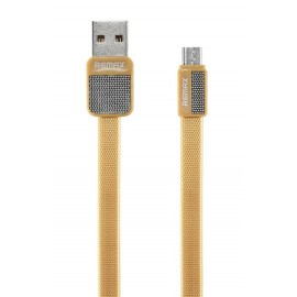 USB кабель MicroUSB Remax Platinum RC-044m gold