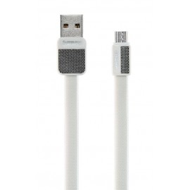 USB кабель MicroUSB Remax Platinum RC-044m white