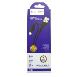 USB кабель MicroUSB Hoco X37 black