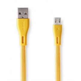 USB кабель MicroUSB Remax Full Speed Pro RC-090m gold