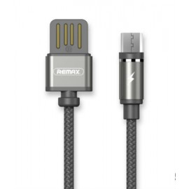 USB кабель MicroUSB Remax Gravity RC-095m black