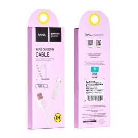 USB кабель TYPE-C HOCO white