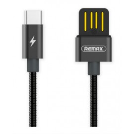 USB кабель TYPE-C Remax Tinned RC-080a black
