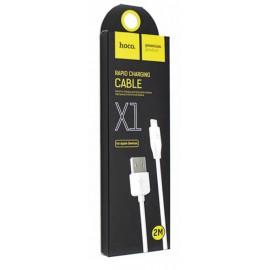 USB кабель Lightning Hoco X1 2 метра white
