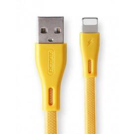 USB кабель iPhone Remax Full Speed Pro RC-090i gold