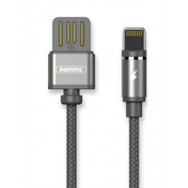 USB кабель iPhone Remax Gravity RC-095i black