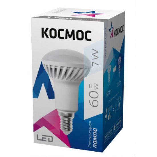 Лампа Космос LED 7Вт R50 Е14 4500К (Lksm_LED7WR50E1445)
