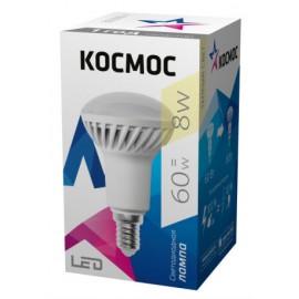 Лампа Космос LED 8Вт R50 Е14 3000К (Lksm_LED8WR50E1430)
